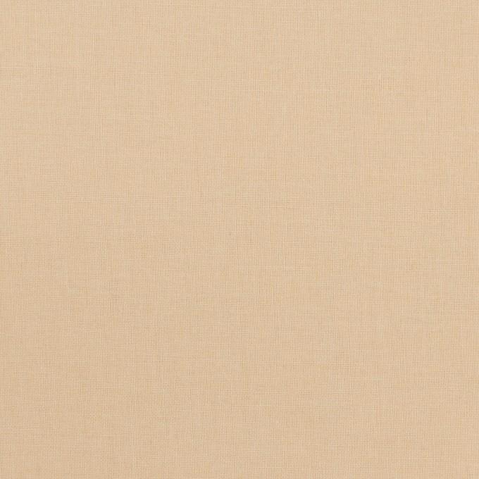 コットン×無地(ライトベージュ)×ボイル イメージ1