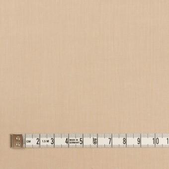コットン&ポリウレタン×無地(ライトベージュ)×シャンブレー・ローンストレッチ サムネイル4