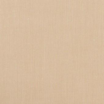 コットン&ポリウレタン×無地(ライトベージュ)×シャンブレー・ローンストレッチ