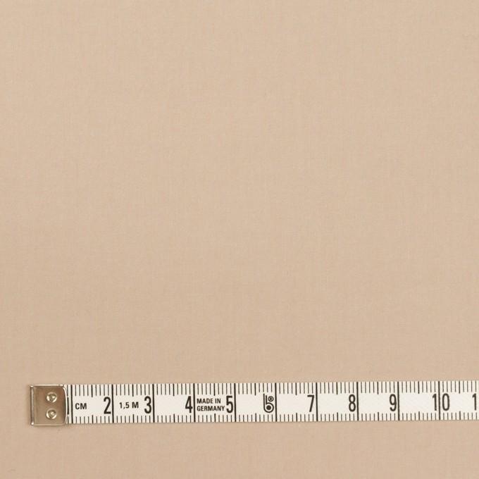 コットン&ポリウレタン×無地(ベージュ)×タイプライター(高密ローン)・ワッシャー イメージ4