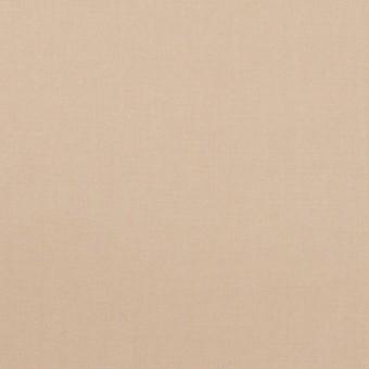 コットン&ポリウレタン×無地(ベージュ)×タイプライター(高密ローン)・ワッシャー