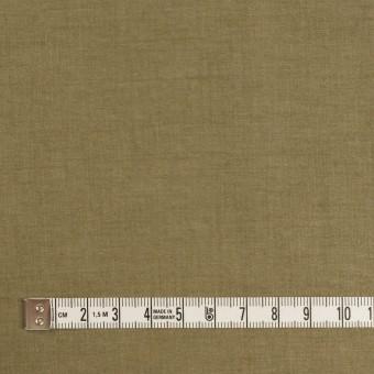 コットン×無地(カーキグリーン)×オーガンジー サムネイル4