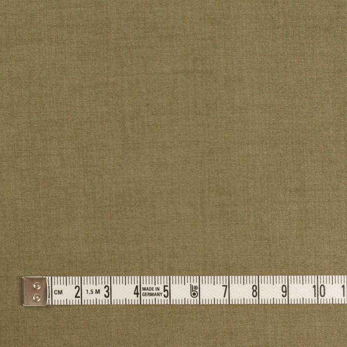 コットン×無地(カーキグリーン)×オーガンジー イメージ4
