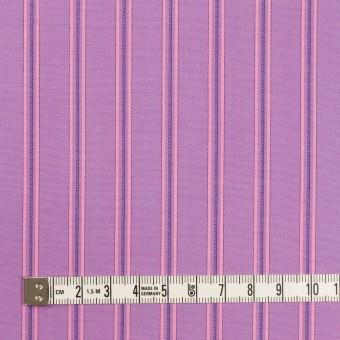 コットン×ストライプ(モーブ)×ブロード サムネイル4