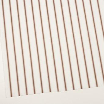 コットン×ストライプ(レンガ&カーキベージュ)×ブロードジャガード サムネイル2