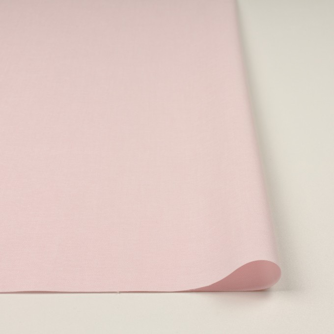 コットン×無地(ペールピンク)×オックスフォード イメージ3