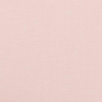 コットン×無地(ペールピンク)×オックスフォード