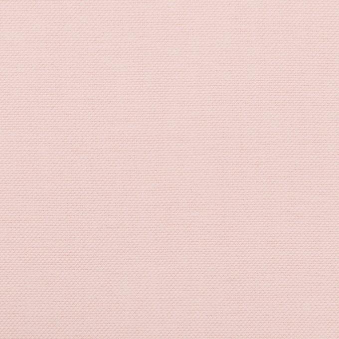 コットン×無地(ペールピンク)×オックスフォード イメージ1