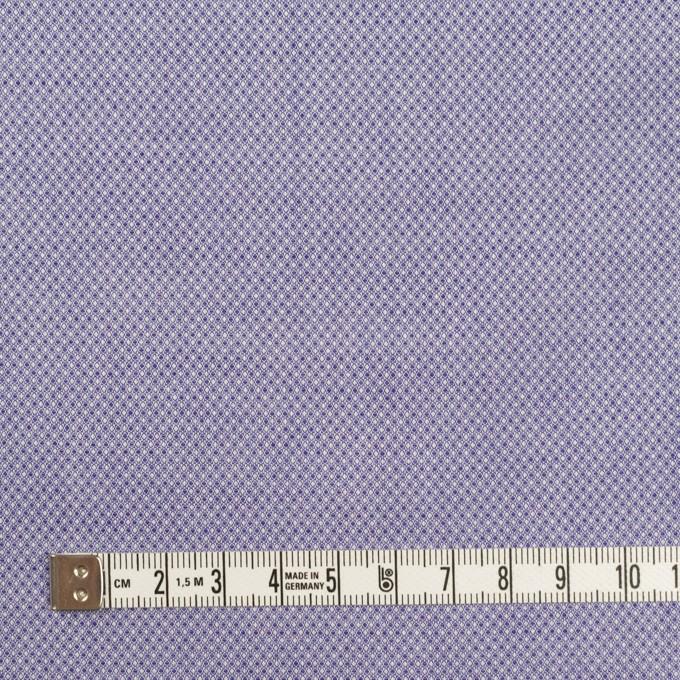 コットン×ピンドット(プルシアンブルー)×シャンブレー・ジャガード イメージ4