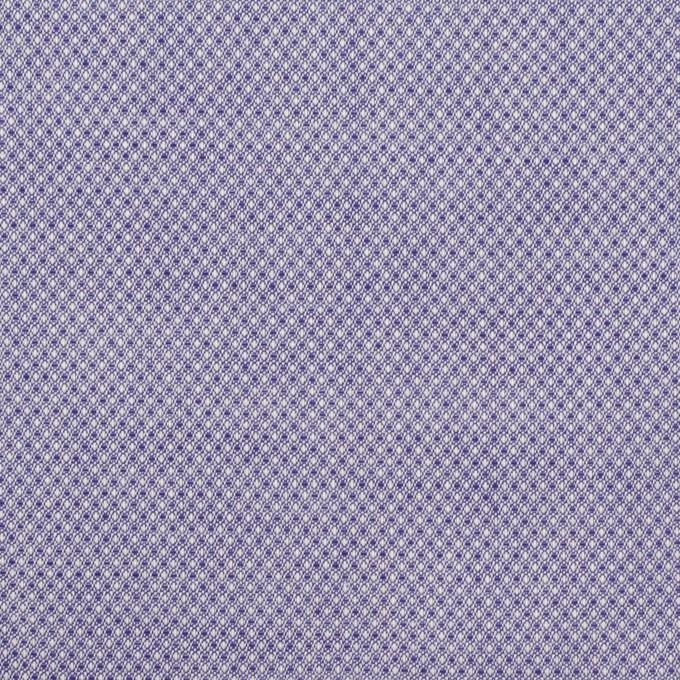 コットン×ピンドット(プルシアンブルー)×シャンブレー・ジャガード イメージ1