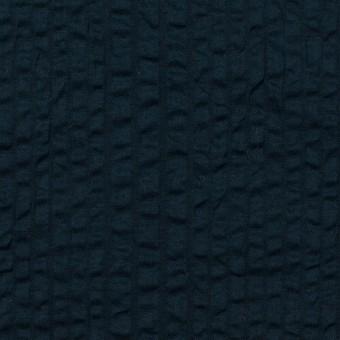 コットン×無地(ダークネイビー)×ローンサッカー_全2色 サムネイル1