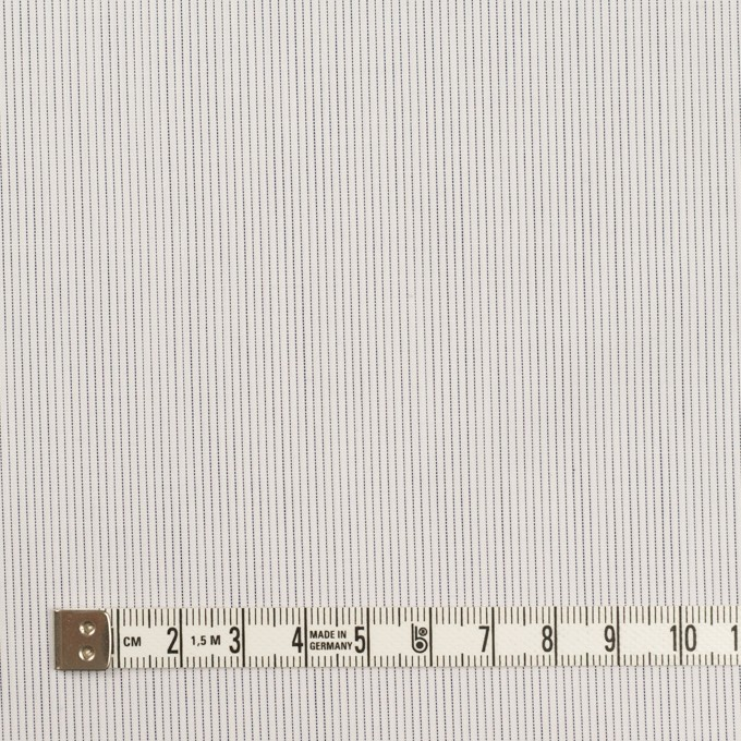 コットン×ストライプ(ネイビー)×ブロード イメージ4