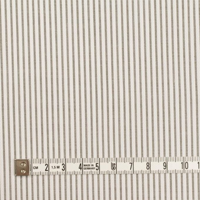 コットン×ストライプ(チャコールグレー)×ヘリンボーン・ジャガード イメージ4