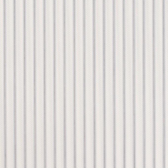 コットン&ポリエステル×ストライプ(シルバーグレー)×ヘリンボーン・ジャガード イメージ1