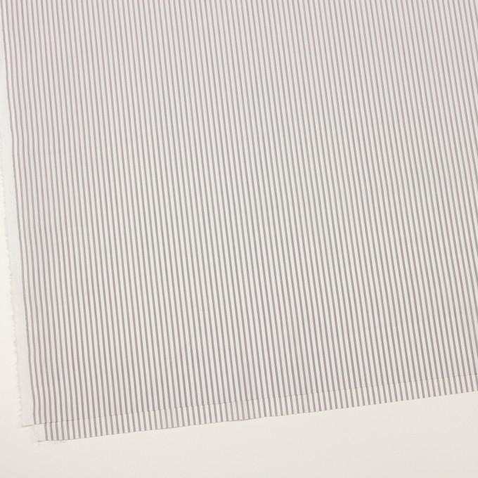 コットン×ストライプ(チャコールグレー)×ローン イメージ2