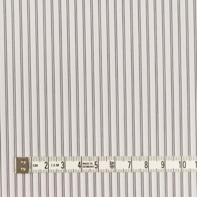 コットン×ストライプ(チャコールグレー)×ローン イメージ4