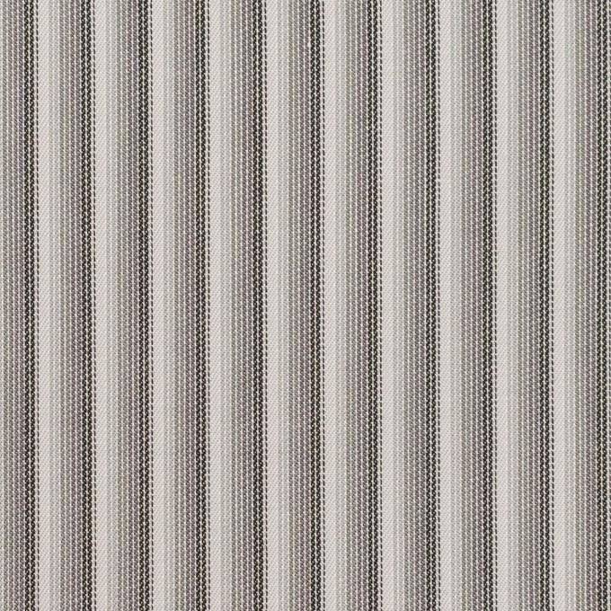 コットン×ストライプ(チャコールグレー)×サージジャガード イメージ1