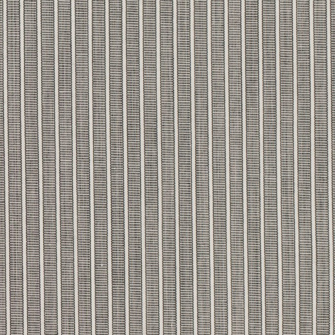 コットン×ストライプ(チャコールグレー)×ブロード イメージ1