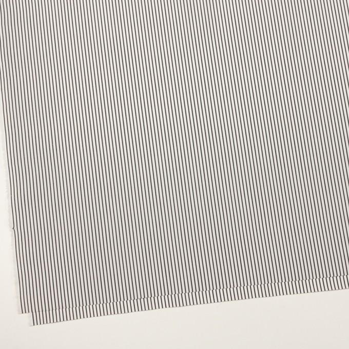 コットン×ストライプ(チャコール)×ブロード イメージ2