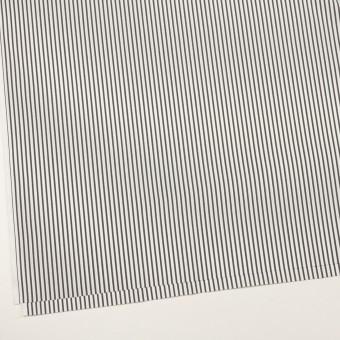 コットン&ナイロン混×ストライプ(チャコール)×ブロードストレッチ サムネイル2