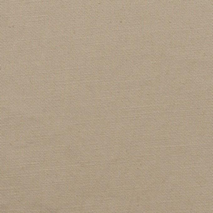 コットン&リネン混×無地(グレイッシュベージュ)×ギャバジン・ワッシャー_全8色 イメージ1