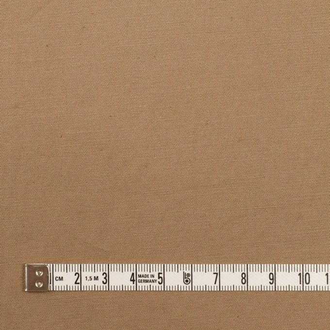 コットン&リネン混×無地(カフェオレ)×ギャバジン・ワッシャー_全8色 イメージ4