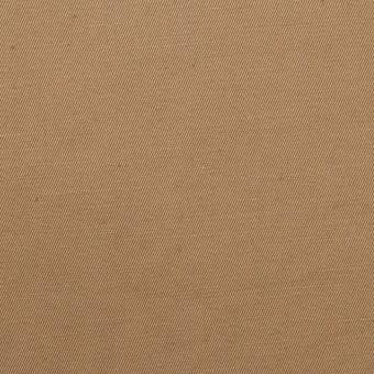 コットン&リネン混×無地(カフェオレ)×ギャバジン・ワッシャー_全8色