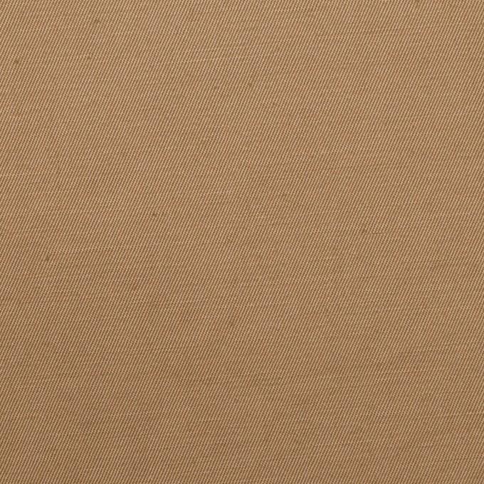 コットン&リネン混×無地(カフェオレ)×ギャバジン・ワッシャー_全8色 イメージ1