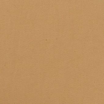 コットン&リネン混×無地(チャイ)×ギャバジン・ワッシャー_全8色