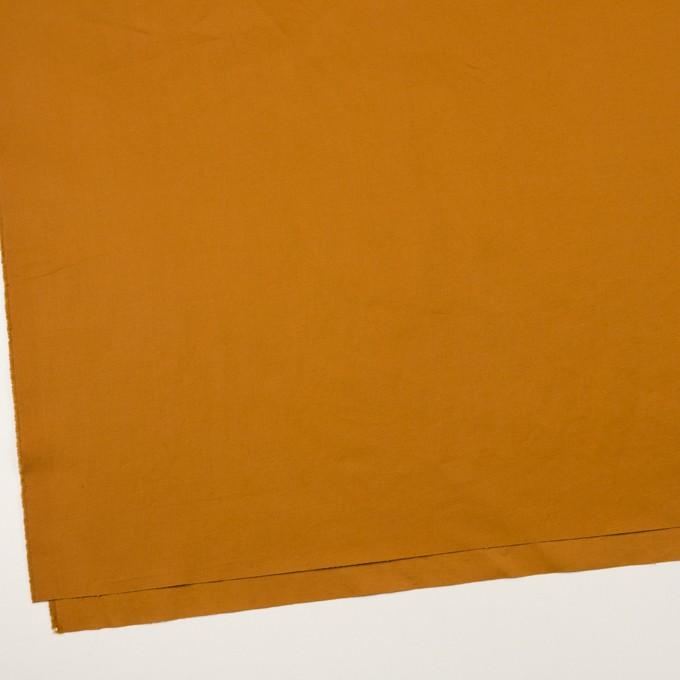 コットン&リネン混×無地(ハニーゴールド)×ギャバジン・ワッシャー_全8色 イメージ2