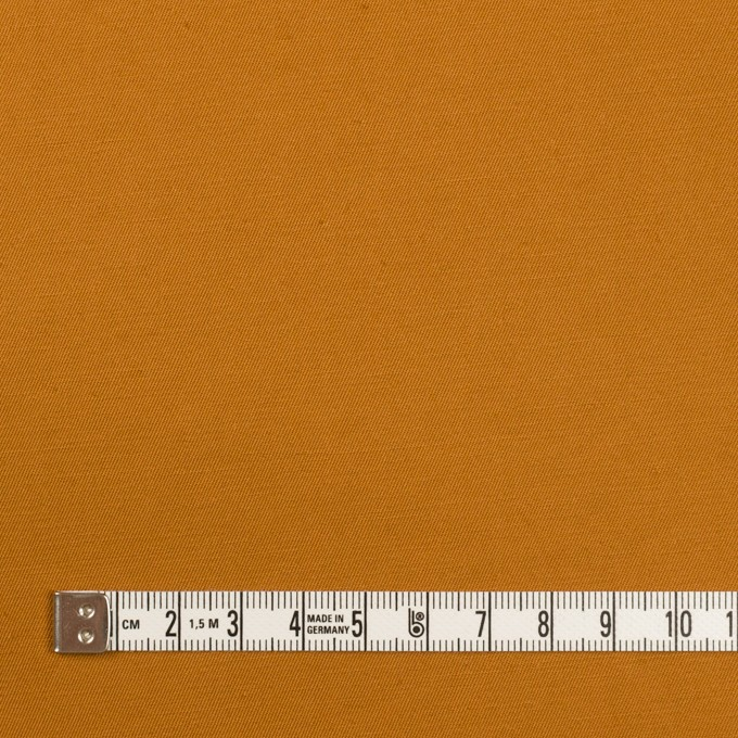 コットン&リネン混×無地(ハニーゴールド)×ギャバジン・ワッシャー_全8色 イメージ4