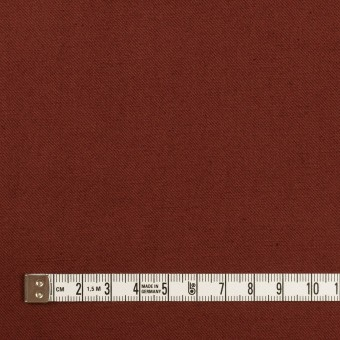 コットン&リネン混×無地(レーズン)×ギャバジン・ワッシャー_全8色 サムネイル4