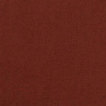 コットン&リネン混×無地(レーズン)×ギャバジン・ワッシャー_全8色