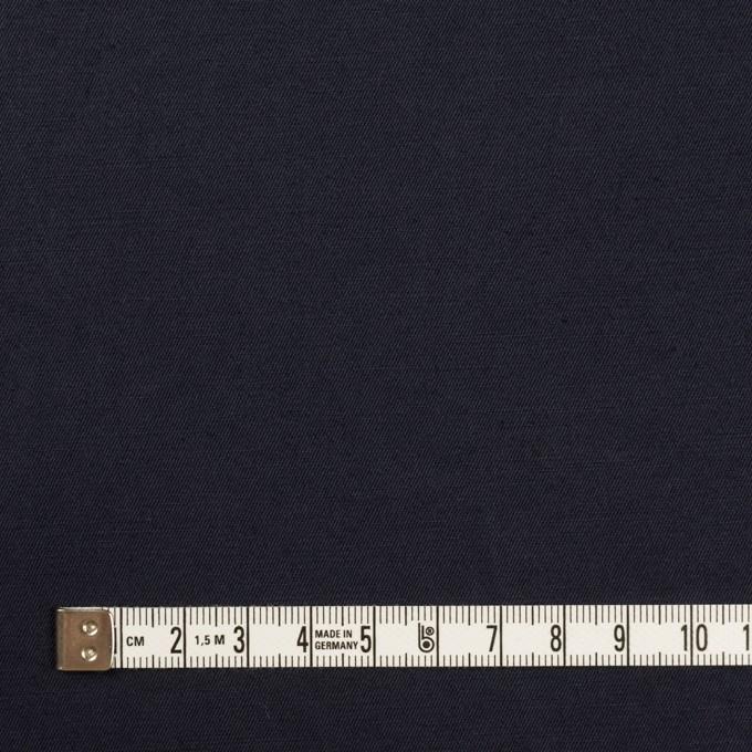 コットン&リネン混×無地(ダークネイビー)×ギャバジン・ワッシャー_全8色 イメージ4