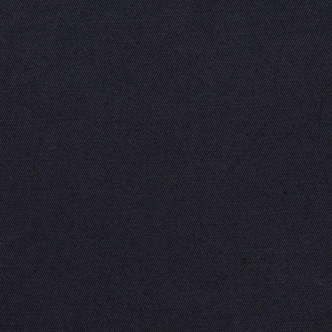 コットン&リネン混×無地(ダークネイビー)×ギャバジン・ワッシャー_全8色 イメージ1