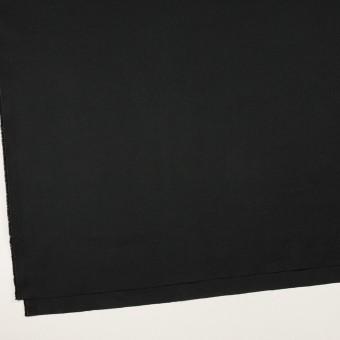 コットン&リネン混×無地(ブラック)×ギャバジン・ワッシャー_全8色 サムネイル2