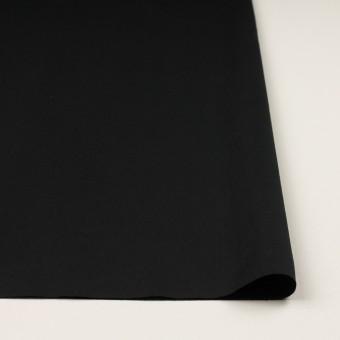 コットン&リネン混×無地(ブラック)×ギャバジン・ワッシャー_全8色 サムネイル3