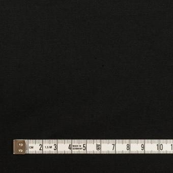 コットン&リネン混×無地(ブラック)×ギャバジン・ワッシャー_全8色 サムネイル4