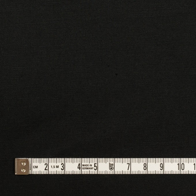 コットン&リネン混×無地(ブラック)×ギャバジン・ワッシャー_全8色 イメージ4