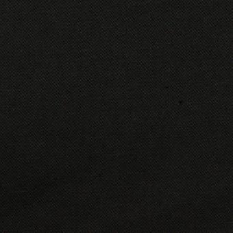 コットン&リネン混×無地(ブラック)×ギャバジン・ワッシャー_全8色