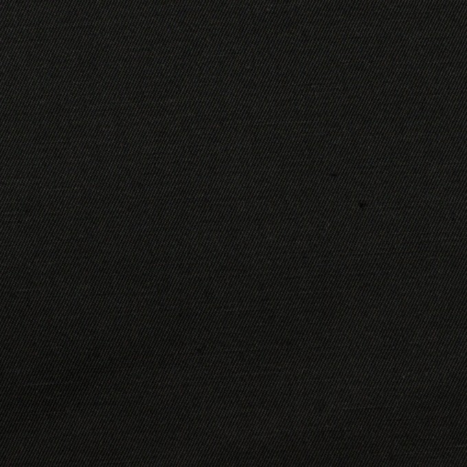 コットン&リネン混×無地(ブラック)×ギャバジン・ワッシャー_全8色 イメージ1