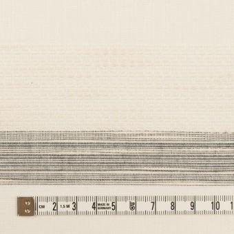コットン×ボーダー(エクリュ)×ジャガード_全2色 サムネイル4