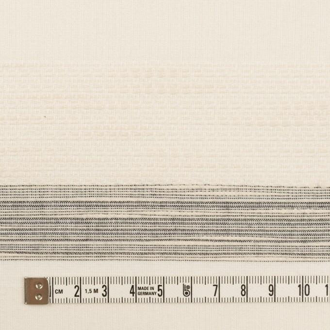 コットン×ボーダー(エクリュ)×ジャガード_全2色 イメージ4