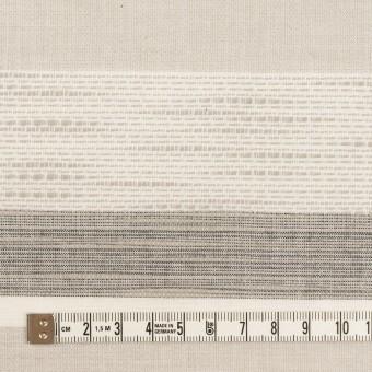 コットン×ボーダー(グレー)×ジャガード_全2色 サムネイル4