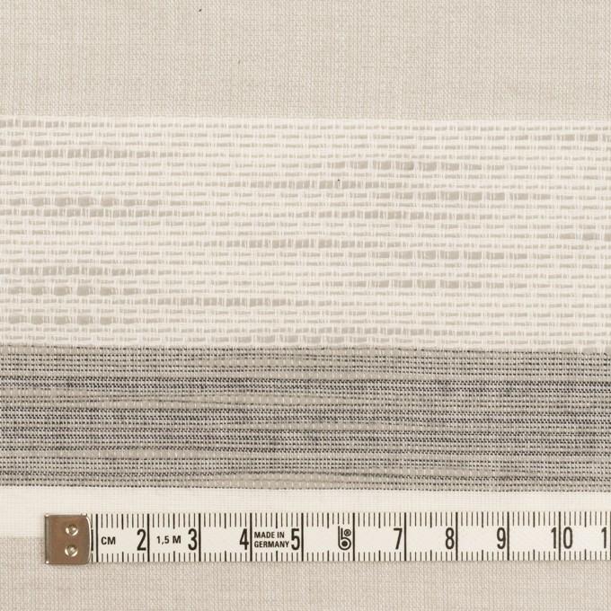 コットン×ボーダー(グレー)×ジャガード_全2色 イメージ4