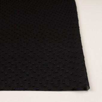 ポリエステル×ドット(ブラック)×シフォンジョーゼット・カットジャガード_全2色 サムネイル3