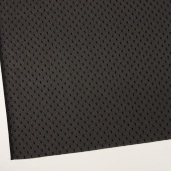 ポリエステル×ドット(ブラック)×シフォンジョーゼット・カットジャガード サムネイル2