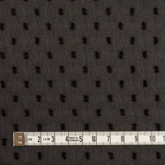 ポリエステル×ドット(ブラック)×シフォンジョーゼット・カットジャガード サムネイル4