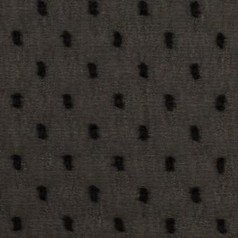 ポリエステル×ドット(ブラック)×シフォンジョーゼット・カットジャガード サムネイル1