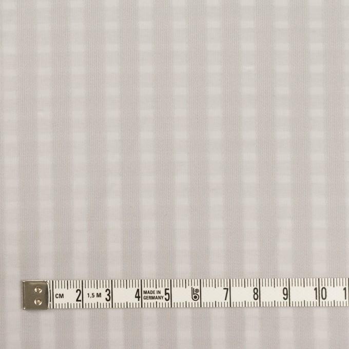 ポリエステル×スクエア(シルバーグレー)×サテンジョーゼット_全2色 イメージ4